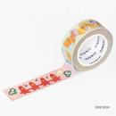 Side dish - ICONIC Enjoy pattern paper deco masking tape