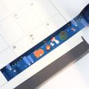 Example of use - ICONIC Enjoy pattern paper deco masking tape