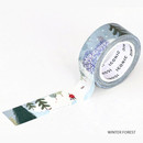 Wither forest - ICONIC Season pattern paper deco masking tape