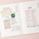 Example of use - Livework Life and pieces large idea blank notebook