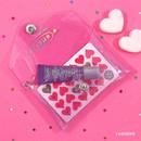 Lavender - Second Mansion Moonlight twinkle folding card case wallet