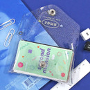 Example of use - Second Mansion Moonlight twinkle folding card case wallet