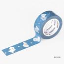 Bichon - ICONIC Buddy pattern paper deco masking tape