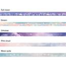 Option - ICONIC Gradation pattern paper deco masking tape