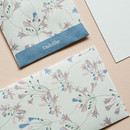 Example of use - Dailylike African lily small card and envelope set