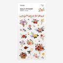 Dailylike Daily transparent deco sticker - Rose