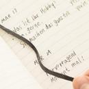 Ribbon bookmark - Livework Agenda large grid notebook ver4