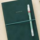 Elastic band closure - Livework Agenda large grid notebook ver4