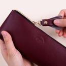 Zipper pencil case - Rihoon Tassel PU zipper pencil case pen pouch