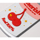 Water resistant - After The Rain Cherry can travel luggage name tag