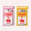 Package - After The Rain Cherry can travel luggage name tag