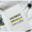 Example of use - Dailylike Jeju masking seal paper deco sticker 4 sheets set
