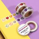Jewelry pattern 15mm wide deco masking tape