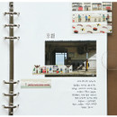 Example of use - Dailylike Kyoto masking seal paper deco sticker 4 sheets set