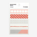Dailylike Mark masking seal paper deco sticker 4 sheets set