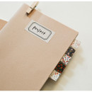 Example of use - Dailylike Vintage flower masking seal paper deco sticker 4 sheets set