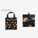 Sweet fruits - Dailylike Pocket XL shopping travel foldable shoulder bag