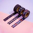 Universe star 15mm width deco masking tape 02