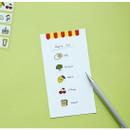 Example of use - Dailylike Market masking seal paper deco sticker 4 sheets set