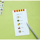 Example of use - Dailylike My diary masking seal paper deco sticker 4 sheets set