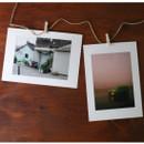 4X6 White paper photo frame set of 10 sheets