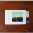 3X5 White paper photo frame set of 10 sheets