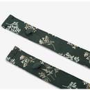 Cross strap -Dailylike Lace flower pattern linen cross back apron