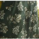 Made of Linen - Dailylike Lace flower pattern linen cross back apron