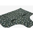 Detail of Dailylike Lace flower pattern linen cross back apron
