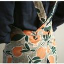 Cross strap - Dailylike Sweet fruits pattern oxford fabric cross back apron