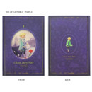 The little prince purple - Indigo Classic story 272 pages hardcover blank notebook