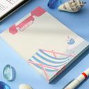 Vacation - ICONIC Retro 80 sheets memo writing notepad