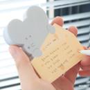 Mouse - ICONIC Peekaboo 60 sheets memo writing notepad