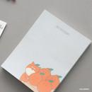 Hallabong - ICONIC Friends 80 sheets memo writing notepad