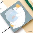 Fish bowl - ICONIC Buddy 80 sheets memo writing notepad