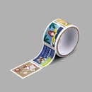 Dailylike Welsh corgi deco single stamp masking tape