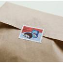 Example of use - Dailylike Snack deco single stamp masking tape