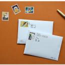 Example of use - Dailylike Bichon deco single stamp masking tape
