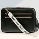 Lettering - Antenna Shop Mood maker synthetic leather shoulder strap