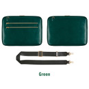 Green - Antenna Shop Slim and wide SL 15 inches laptop PC bag