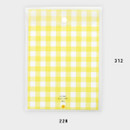 Size - 2NUL Smile A4 size clear snap file folder case pouch