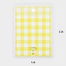 Size - 2NUL Smile A5 size clear snap file folder case pouch