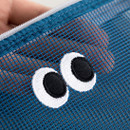 Mesh pouch - Livework Som Som stitch mesh zipper pouch ver2