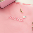 Cute stitch - Livework Nouveau stitch polyester daily tote bag