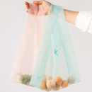 Example of use - Livework Nouveau stitch polyester daily tote bag