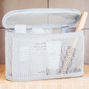 Livework A low hill spa mesh makeup cosmetic zipper pouch