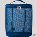 Marin blue - Livework A low hill spa mesh travel zipper tote bag