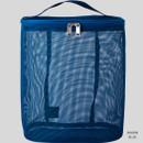 Marin blue - Livework A low hill spa mesh travel zipper tote bag