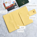 Composition - Play Obje Airline travel passport case holder