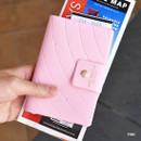 Pink - Play Obje Airline travel passport case holder